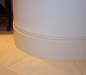 skirting curved